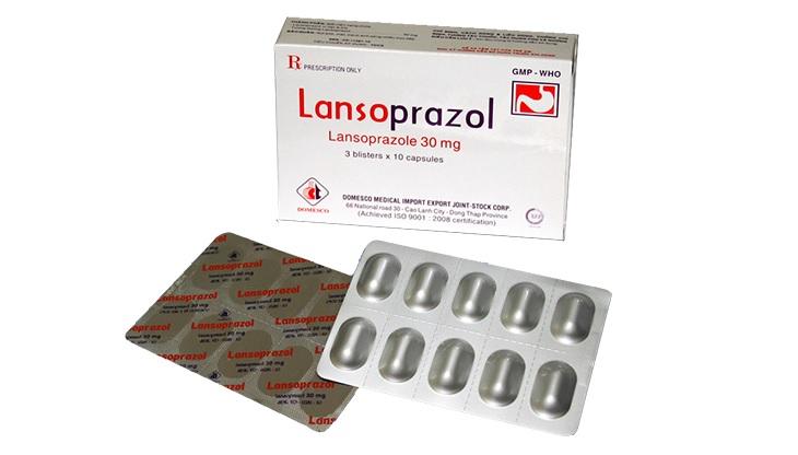 Thuốc trào ngược dạ dày tốt nhất hiện nay là Lansoprazole