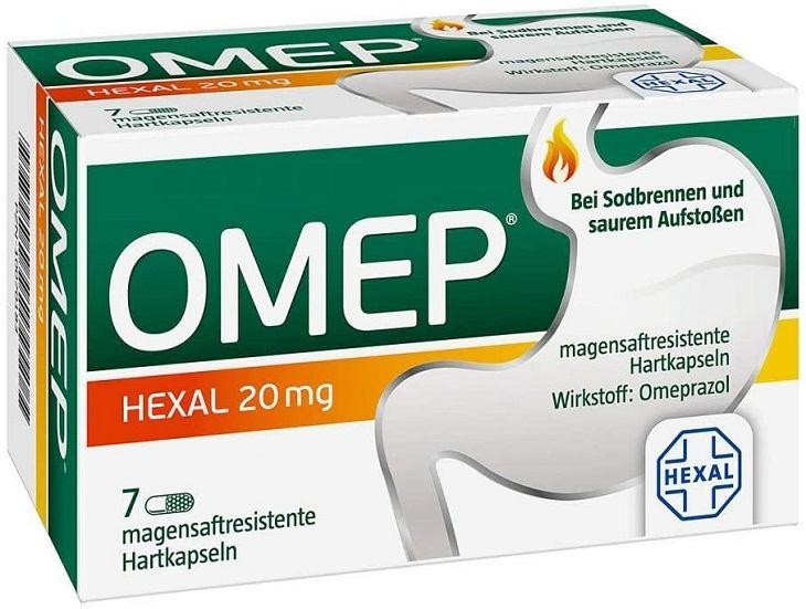 Thuốc trào ngược của Đức - Omep Hexal