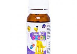 LineaBon K2+D3 giúp bổ sung vitamin D3 và K2 cần cho hệ xương khớp của trẻ