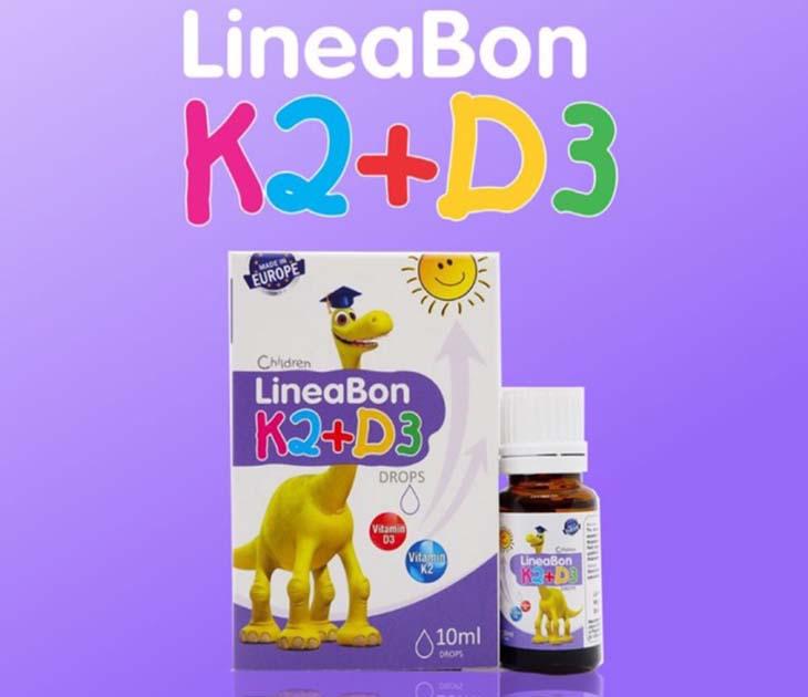 Sử dụng LineaBon K2+D3 đúng cách giúp con phát huy chiều cao tối ưu