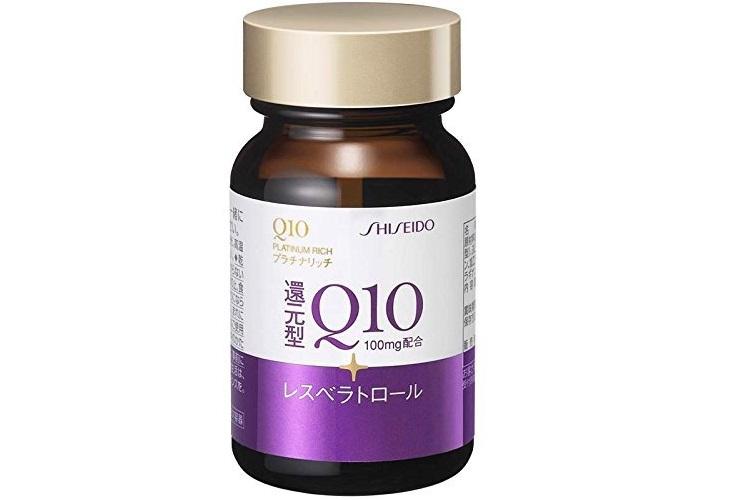 Dòng viên uống Shiseido Q10 Platinum Rich 100mg có nhiều tác dụng