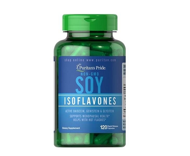 Thuốc uống đẹp da chống lão hóa - Soy Isoflavones Puritan's Pride