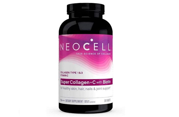 Viên uống Super Collagen Neocell +C tốt cho da