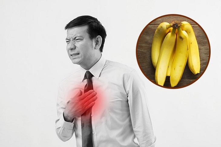 Người bị trào ngược dạ dày có được ăn chuối hay không?