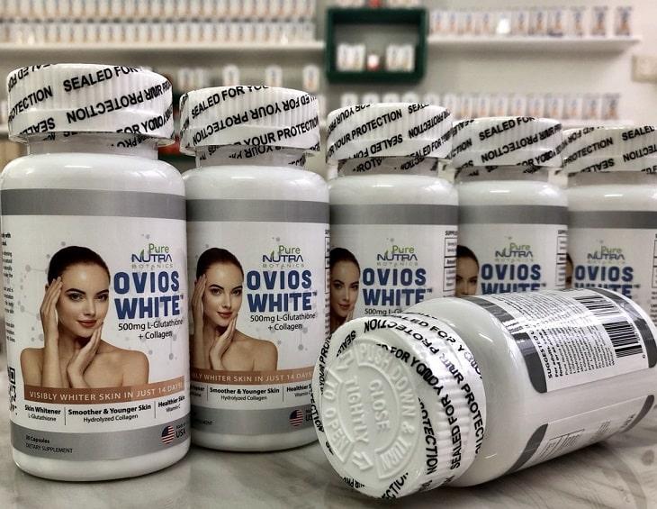 Viên uống trắng da Nutra Ovios White được nhiều người tin dùng