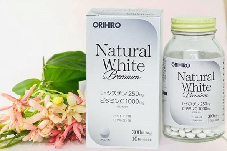 Trắng da cho nam tự nhiên nhờ Natural White Premium Orihiro
