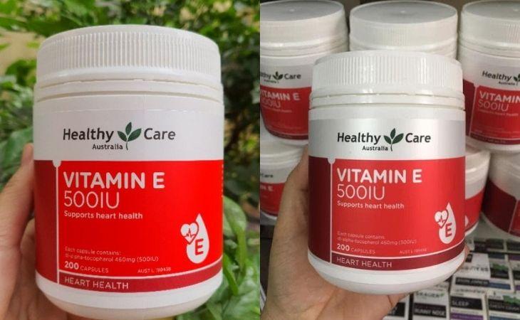 Viên uống Vitamin E Healthy Care giúp bổ sung vitamin có lợi cho cơ thể