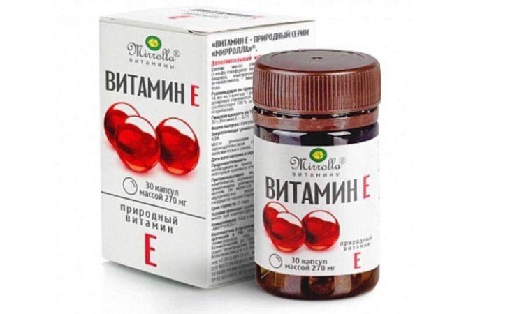 Viên uống vitamin E đỏ Nga Mirrolla được nhiều người tin dùng