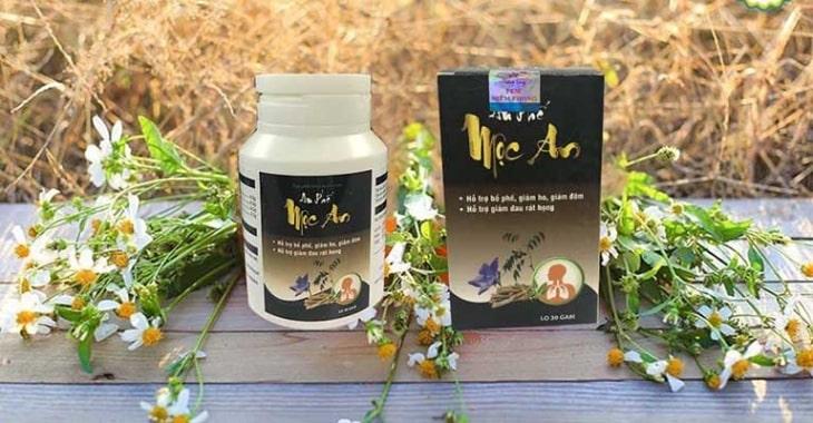 An Phế Mộc An được sản xuất bởi Công ty Cổ phần Dược phẩm Quốc tế Thăng Long