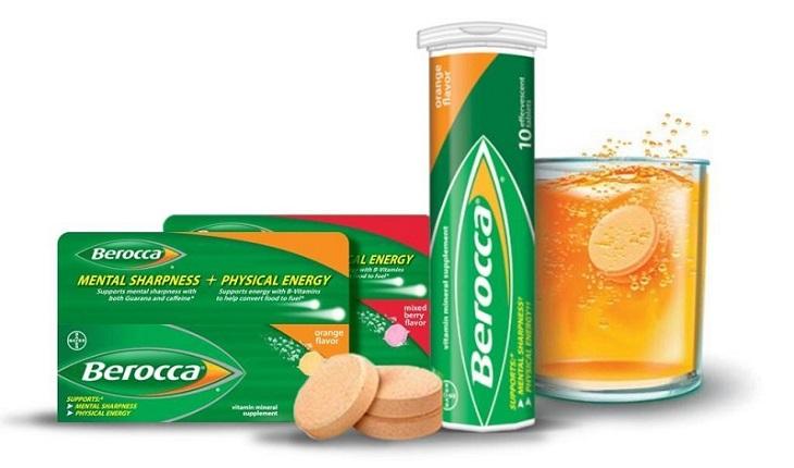Trong 1 viên Berocca có chứa rất nhiền vitamin và khoáng chất tốt cho cơ thể con người