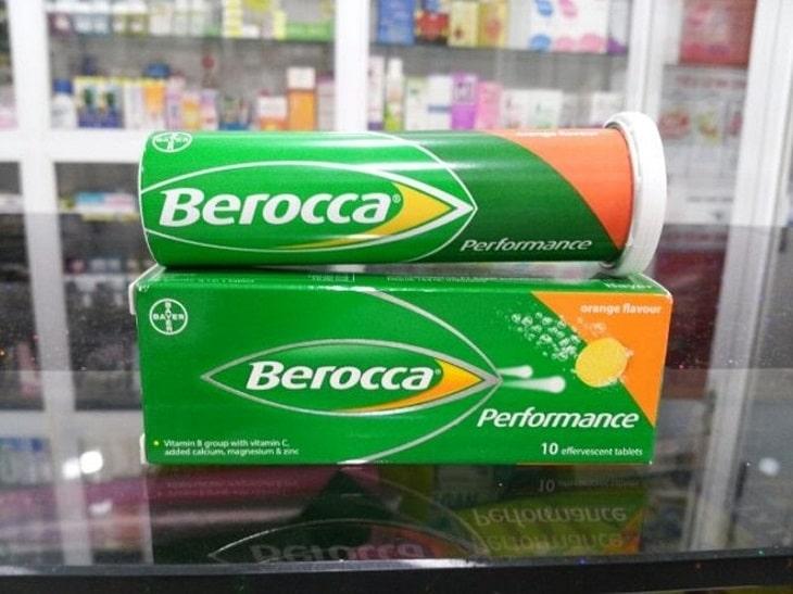 Berocca là thực phẩm chức năng, chỉ có tác dụng hỗ trợ điều trị bệnh