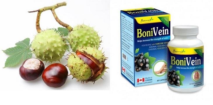Hạt dẻ ngựa - thành phần chính có trong viên uống bonivein