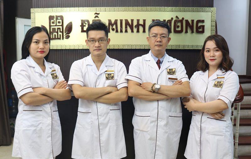 Đội ngũ lương y, bác sĩ tại Đỗ Minh Đường cơ sở Hà Nội