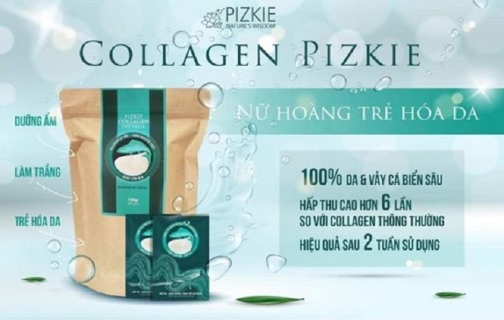 Collagen cá hồi Pizkie được đánh giá là sản phẩm tốt trong lĩnh vực chăm sóc sức khỏe và sắc đẹp