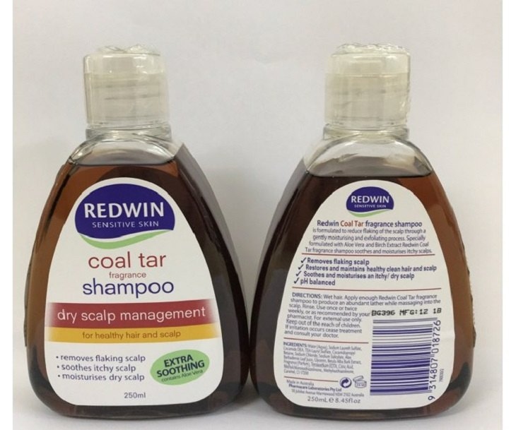 Redwin Coal Tar Fragrance không chỉ chữa bệnh á sừng mà còn rất tốt cho tóc