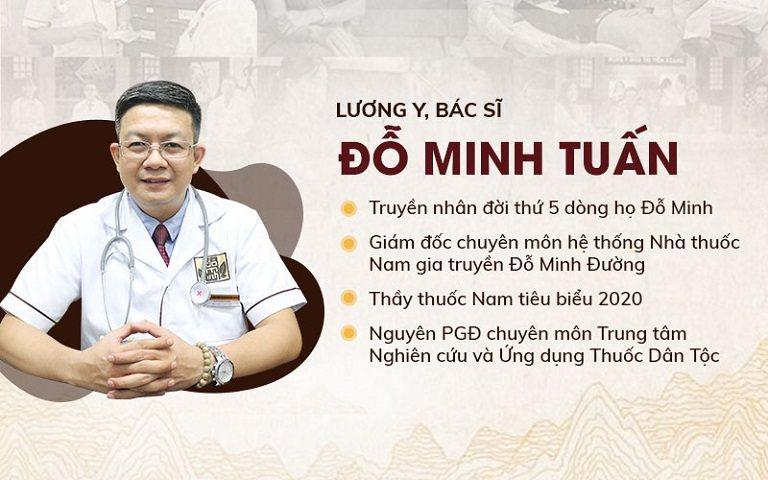 Lương y Đỗ Minh Tuấn người tối ưu hoàn thiện thuốc cho bệnh nhân hiện nay