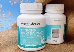 Ginkgo Biloba Healthy Care là sản phẩm bổ não nổi tiếng