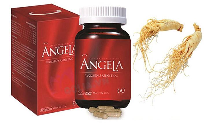 Sâm Angela Gold là một thực phẩm chức năng giúp cải thiện sức khỏe cho phái đẹp