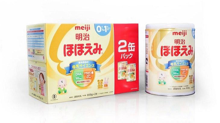 Meiji số 0 là sự lựa chọn của nhiều bà mẹ trên thế giới
