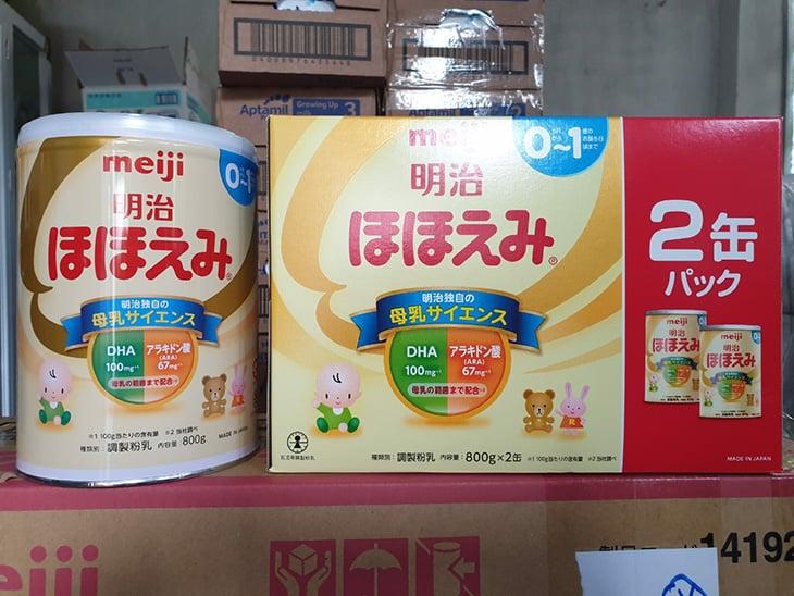 Sữa Meiji số 0 nội địa Nhật luôn là sản phẩm được tin dùng