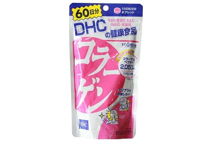 Collagen DHC có chứa đến 2050mg Collagen