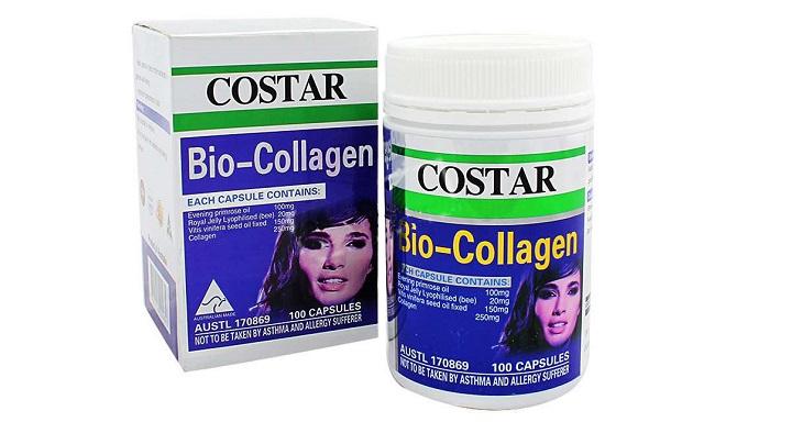 Thực phẩm chức năng đẹp da Bio Collagen Costar đang được săn lùng nhiều nhất hiện nay