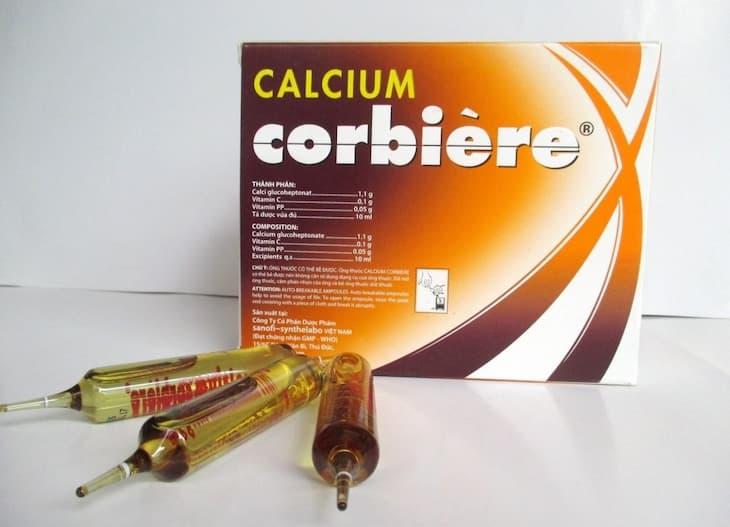 Calcium Corbiere được bào chế dạng chất lỏng dễ sử dụng và có khả năng hấp thụ nhanh