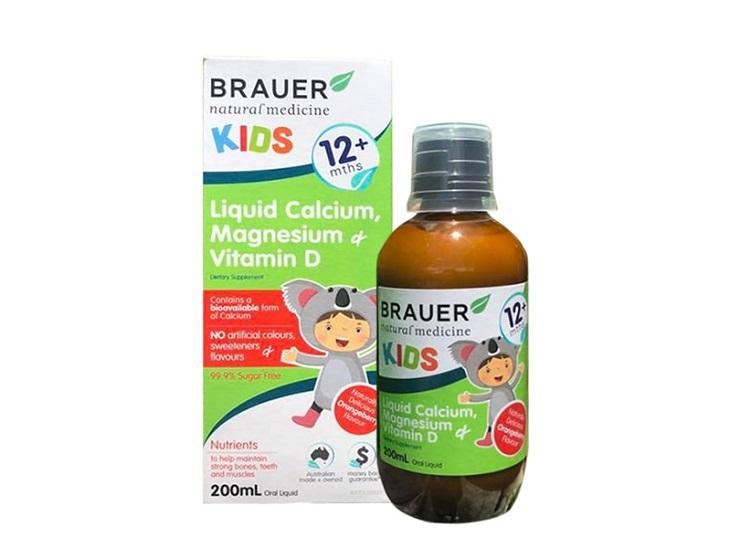 Thuốc bổ sung canxi cho bé Brauer Baby & Kids Liquid Calcium được minh chứng mang lại nhiều hiệu quả vượt trội