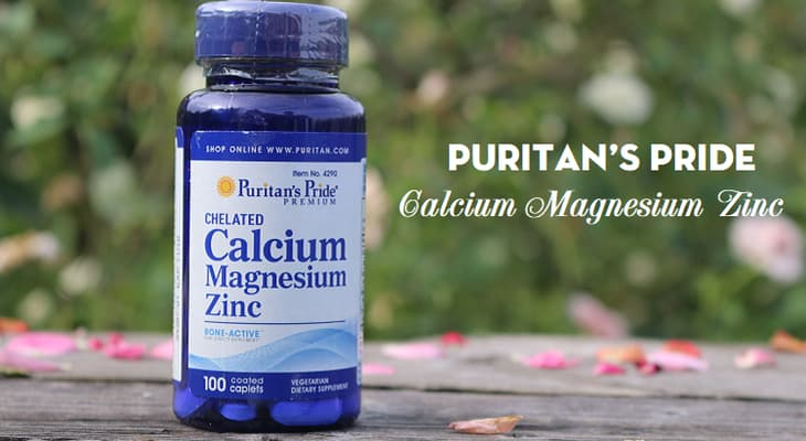 Puritan's Pride Calcium Magnesium Zinclà thuốc bổ sung canxi cho người lớn được ưa chuộng hiện nay