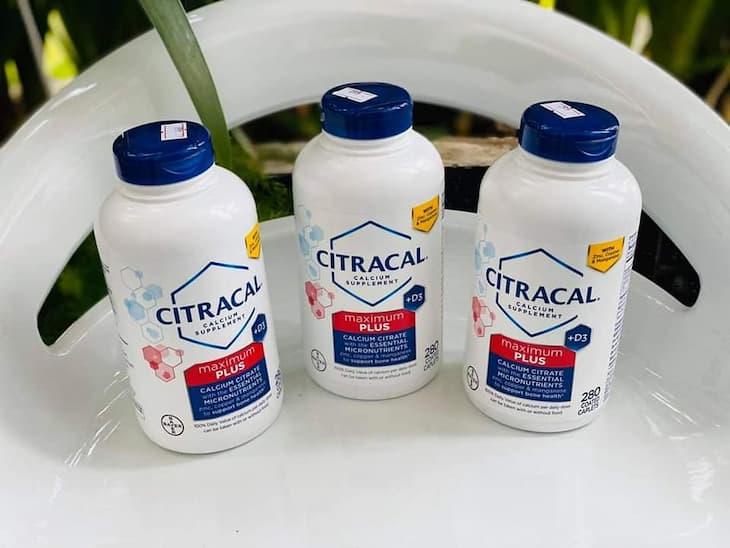 Citracal của hãng dược BAYER là lựa chọn không thể bỏ qua với những người đang gặp tình trạng thiếu hụt canxi