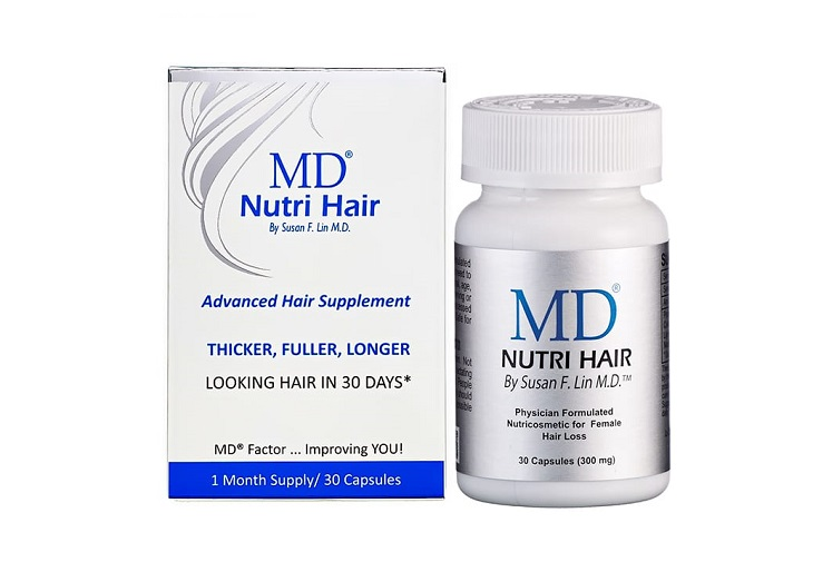 MD Nutri Hair là thuốc chống rụng tóc và kích thích mọc tóc hàng đầu đến từ thương hiệu MDLASHFACTOR