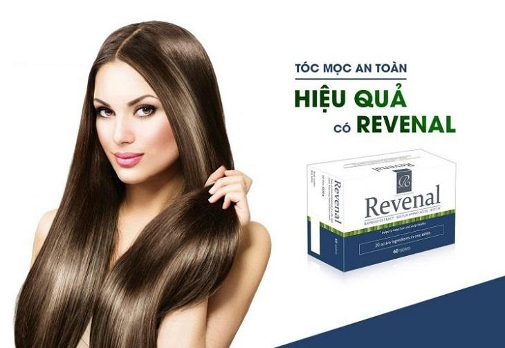 Thuốc chống rụng tóc và kích thích mọc tóc Revenal được chứng minh hiệu quả