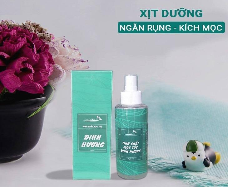 Xịt mọc tóc Đinh Hương Nhu đem lại hiệu quả nuôi dưỡng tóc trực tiếp từ chân đến ngọn