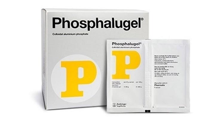 Thuốc chữa trào ngược dạ dày cho bé Phosphalugel