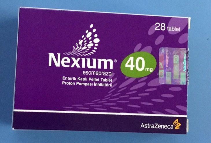 Nexium - thuốc đặc trị trào ngược dạ dày của Mỹ