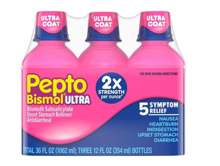 Pepto Bismol hiệu quả điều trị rất tốt