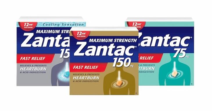 Thuốc đặc trị trào ngược dạ dày của Mỹ Zantac nhanh chóng thuyên giảm triệu chứng