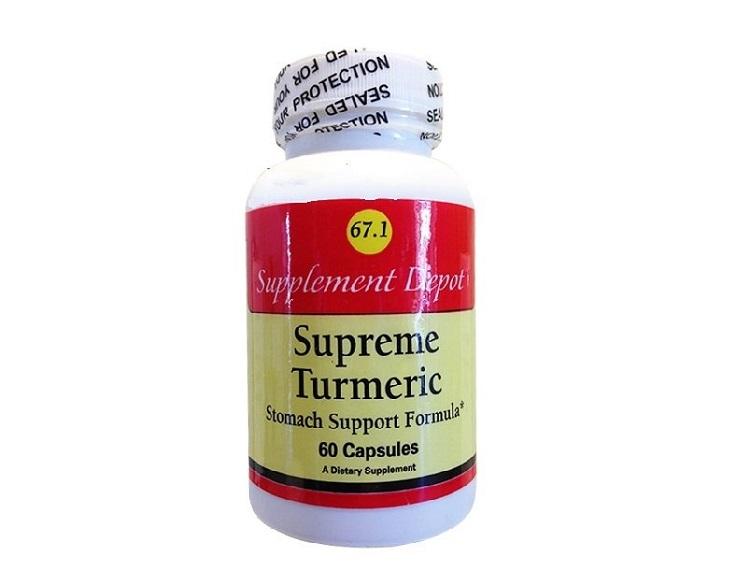 Turmeric Extract - Một loại chữa dạ dày an toàn của Mỹ