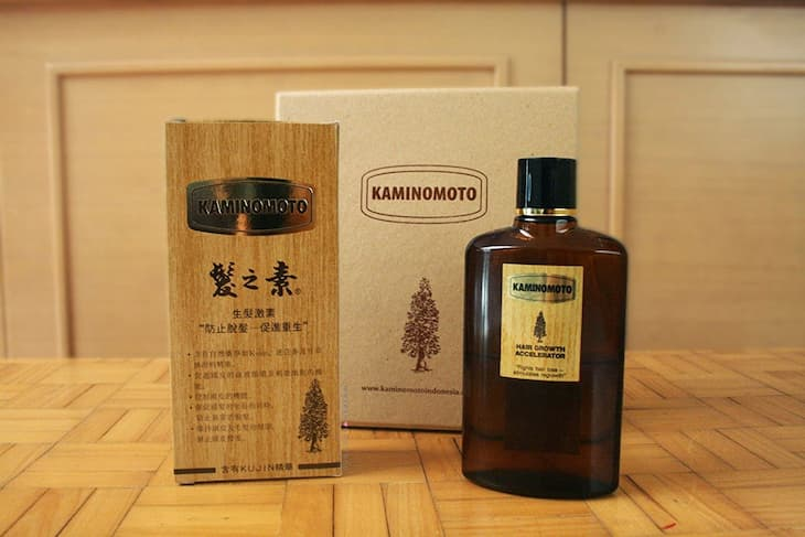 Kaminomoto với dạng bào chế serum dễ sử dụng và có thể thẩm thấu vào sâu bên trong chân tóc