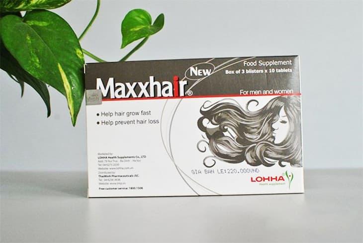 LOHHA MaxxHair là một trong những sản phẩm mọc tóc hiệu quả nhất hiện nay