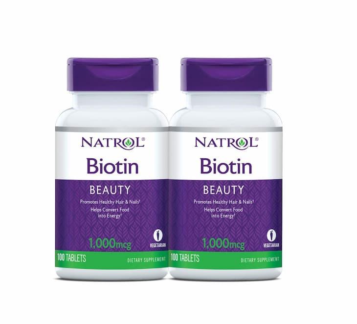 Natrol Biotin 1000mcg được nhiều người săn lùng trong thời gian gần đây
