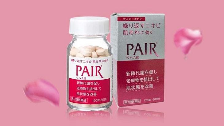 Viên uống trị mụn Lion Pair của Nhật Bản