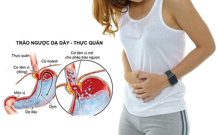 Trào ngược dạ dày ban đêm là bệnh lí gây ảnh hưởng nghiêm trọng tới sức khỏe con người