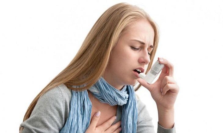 Một vài trường hợp có thể bị hen suyễn