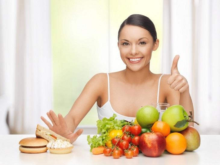 Thay đổi thói quen và chế độ ăn uống