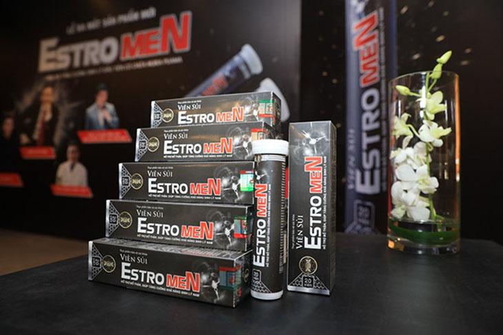 Một trong những thành phần của viên sủi Estromen là bạch tật lê