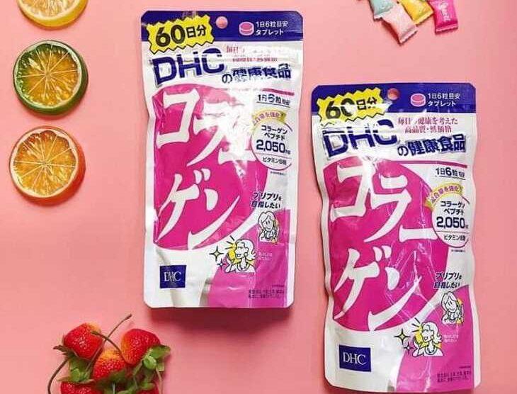 Viên uống collagen DHC tái tạo da, ngăn ngừa lão hóa hiệu quả