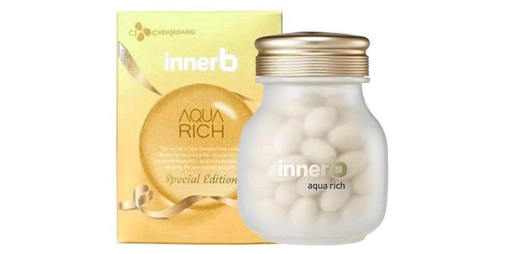 Sản phẩm Collagen Hàn Quốc Innerb Aqua Rich chăm sóc da từ sâu bên trong