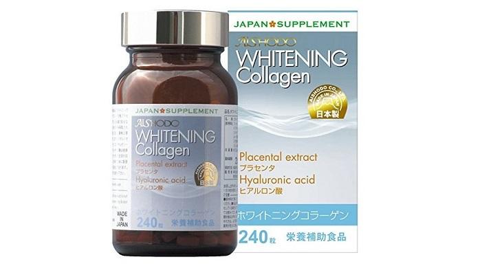 Viên uống đẹp da Collagen Whitening của Nhật