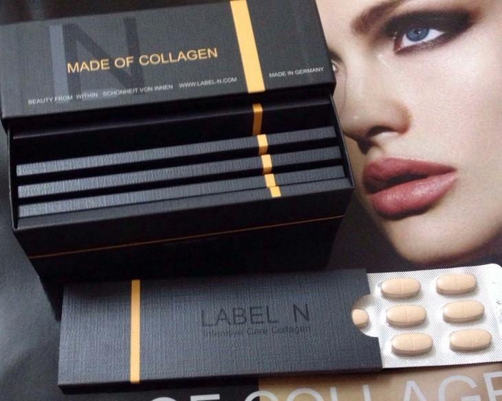 Viên uống đẹp da của Đức Collagen Label nổi tiếng nhất hiện nay